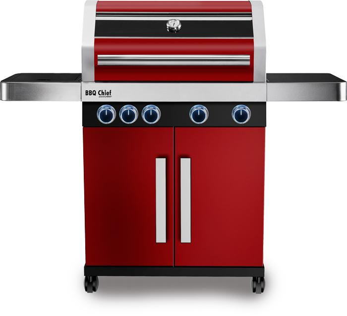 maxxus premium gasgrill bbq chief 9 0 rot inkl pizzastein ebay. Black Bedroom Furniture Sets. Home Design Ideas