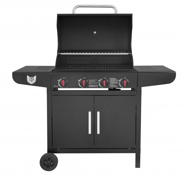 gasgrill bbq chief nexus 4 0 mit 4 edelstahlbrenner gu rost ebay. Black Bedroom Furniture Sets. Home Design Ideas