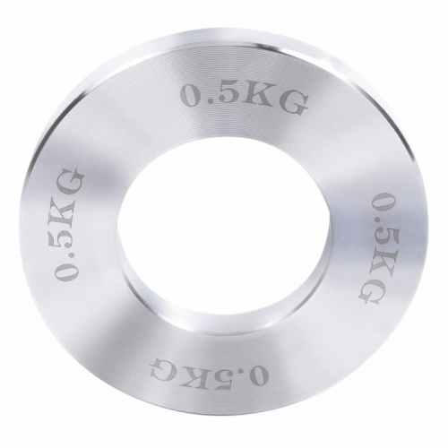Chromed Plates Chrom 5 kg (2x 0,25 kg, 2x 0,5 kg, 2x 0,75 kg, 2x 1 kg)