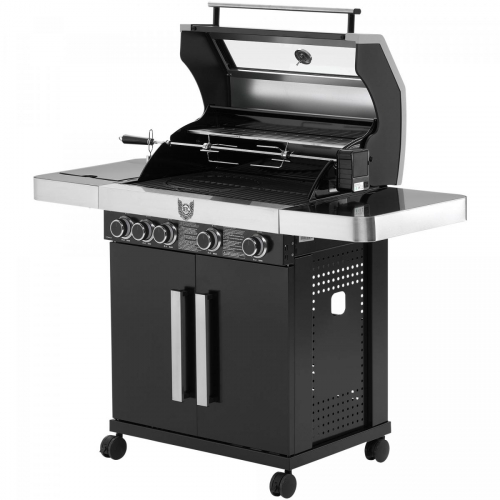 Gasgrill MAXXUS BBQ CHIEF 9.0 schwarz - Testsieger bei Haus & Garten