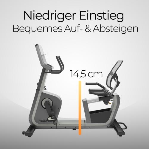 MAXXUS Liegeergometer Bike 6.2R