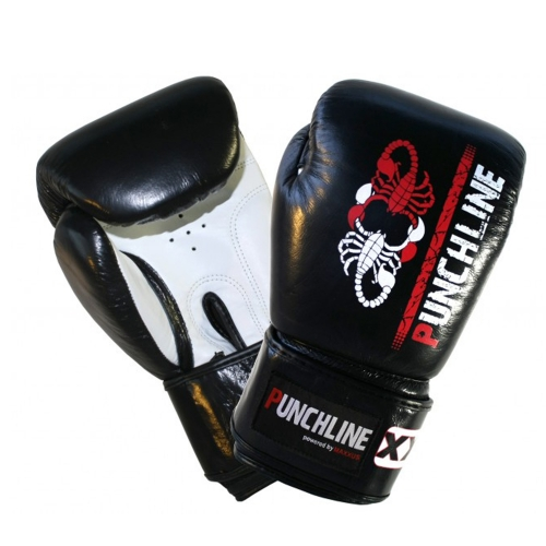 Punchline Boxhandschuh Scorpion Echtleder 14 Oz