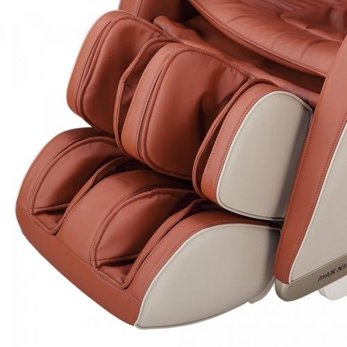 Massagesessel MX 8.0z Farbe beige/braun