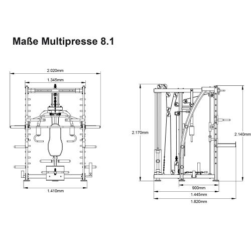 Multipresse MAXXUS 8.1