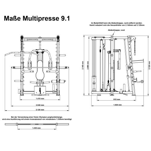 Multipresse MAXXUS 9.1