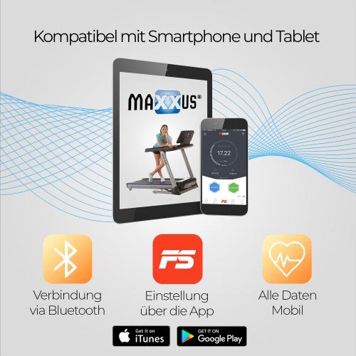 MAXXUS Laufband RunMaxx 7.4
