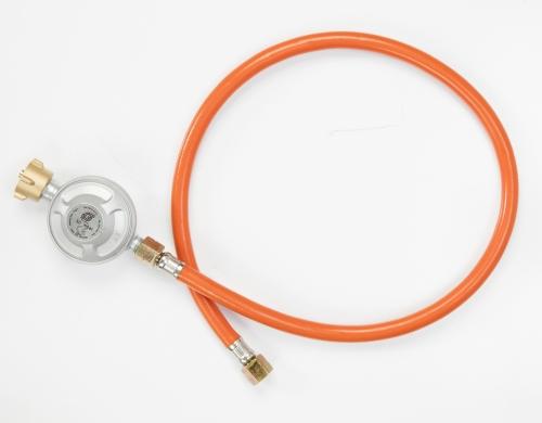 Druckminderer mit Gasschlauch für Gasgrills