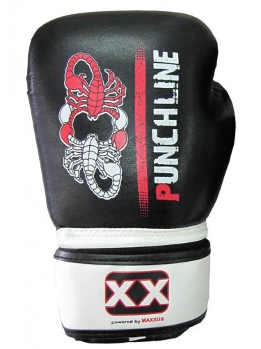 PUNCHLINE Boxhandschuhe 10 Unzen, Kunstleder