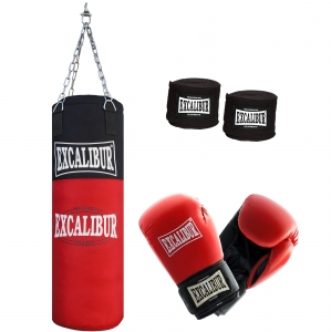 Jugend Boxset EXCALIBUR ALLROUND 80 mit 8oz. Boxhandschuhen