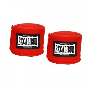 EXCALIBUR Wickelbandage 2 Stück rot