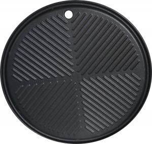 Runde Grillplatte für Gasgrill BBQ Chief 9.0 und 12.0