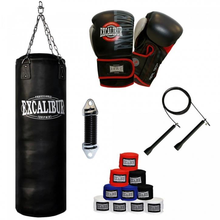 Halterung Kette MADX 7-teiliges Set 4/ft Boxen Schwere Gef/üllt Boxsack Handschuhe KICKBAG