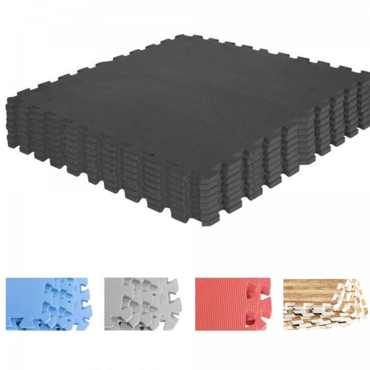 Maxxus Bodenschutzmatte für Fitnessgeräte Heimtrainer Rutschfest 2,4 x 1m x 6mm